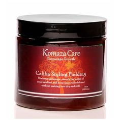 Califia Styling Pudding Natural Hair Care, Natural Hair Styles, Frizz Control, Smooth Hair, How To Make Hair, Hairline, Pudding, Curls, Food