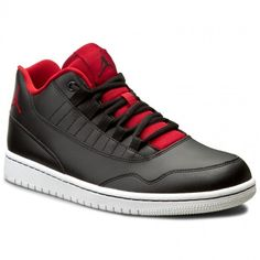 Buty NIKE - Jordan Executive Low 833913 001 Black/Gym Red