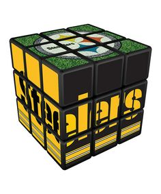 This Pittsburgh Steelers Rubik's Cube is perfect! #zulilyfinds