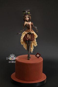 ❥ Steampunk Revelry | Cake