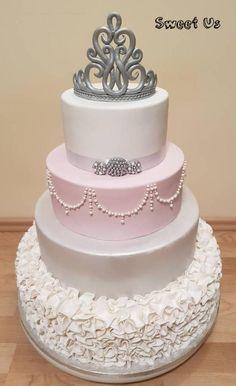 18th birthday cake by Gabriela Doroghy