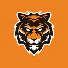 Corporate Branding, Logo Branding, Vector Icons, Vector Art, Lion Head Tattoos, Tiger Art, Tiger Head, Lion Illustration, Tiger Logo