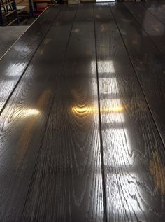 Metal coated floorboard.  Real Metal on all Surfaces www.paulramakers.nl