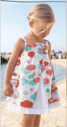 Adorable!Sweet dress!...your girl will look adorable♥