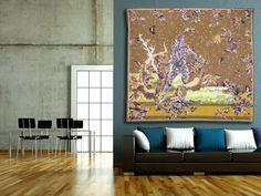 L'hallali,  tapisserie d'Aubusson tissée par l'atelier Tabard. Circa 1940.  L'Œuvre de Lurçat est immense : c'est toutefois son rôle dans la rénovation de l'art de la tapisserie qui lui vaut d'être passé à la postérité. Dès 1917, il commence par des œuvres au canevas, puis, dans les années 20 et 30, il travaillera avec Marie Cuttoli. Sa première collaboration avec les Gobelins date de 1937 ... Lire la suite sur www.latapisserie20e.com