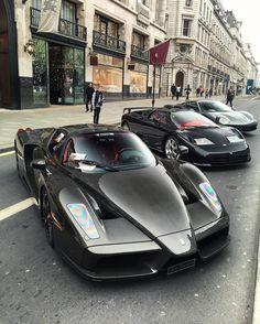 Ferrari Enzo, Bugatti EB110 and Ferrari 488GTB Travel In Style | #MichaelLouis - www.MichaelLouis.com