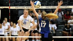 Stmu Volleyball Grinds Past Saints In Home Opener Athlete Saints Volleyball