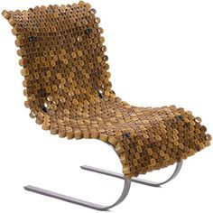 This Bamboo Lounger by London-based design firm Objekt Incorporated showcases the potential for using bamboo in its unprocessed state. Rings of the fast-growing material were woven together to create Bamboo Furniture, Furniture Ads, Simple Furniture, Cheap Furniture, Furniture Design, Luxury Furniture, Accent Furniture, Bathroom Installation, London Lifestyle