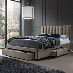 Versatilitate pentru un dormitor modern.  #mobexpert #dormitor #paturitapitate #reduceri #mobilierdormitor My Room, New Homes, House, Furniture, Living, Design, Home Decor, Beds, Decoration Home