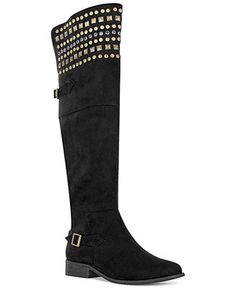 8dce7daf76f Mia Pyramid Over The Knee Boots   Reviews - Shoes - Macy s