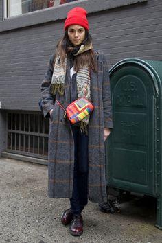 VOGUE fashion | snap | 速報! 2013-14年秋冬NYコレクション会場スナップPart2。 | 4