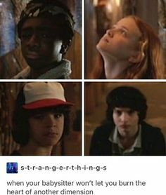 AhahI finally finished watching the last two episodes of Stranger Things....#amazing who has watched it?