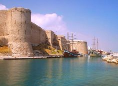 Kyrenia Castle, North Cyprus stands on a site that was in use during Roman times.  The impressive fortress dominates the entrance to the old harbour.  Originally thought to have been built around the 7th Century by the Byzantines and used as a defence against the invading Arabs. The Castle has been used as a refuge and shelter during times of conflict and peace. The first recorded reference to the castle was in the 1100's when Richard the Lion Heart conquered Cyprus on his way to the…