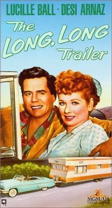 The Long, Long Trailer, this movie is why i want to live in a trailer!