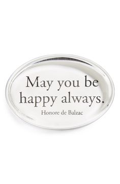 May you be happy always.