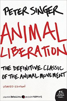 Animal Liberation: The Definitive Classic of the Animal Movement by Peter Singer http://www.amazon.com/dp/0061711306/ref=cm_sw_r_pi_dp_6JxSwb00QMCAT