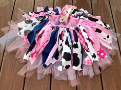 Pink Cowgirl costume - cowgirl skirt - Cowgirl birthday Tutu, Double layer, shabby chic fabric tutu skirt - Choose your size Cow Birthday, Cowgirl Birthday, Bday Girl, Birthday Tutu, 2nd Birthday Parties, Birthday Ideas, Birthday Celebration, Cowgirl Tutu, Cowgirl Skirt