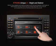 Autoradio-Mecedes-2-din-Gps-Bluetooth-DVD-Xtrons-PF7M245GT-Pantalla-Tactil