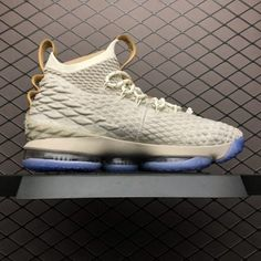 e21c81a7a80 Cheap Nike LeBron 15 Ghost Basketball Shoes Sale 897648-200. Nike LeBron 15  Ghost String Vachetta Tan-Sail ...