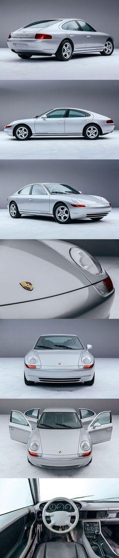 1991 #Porsche 989 / 300hp V8 / prototype cancelled Panamera / Harm Lagaay / Germany / #silver / 17-349