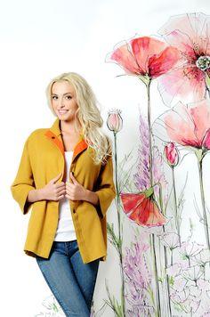 Легкое весеннее пальто без подкладки, горчичного цвета. Новая коллекция весна-лето 2015!  Подойдет для модниц, обожающих одеваться стильно и ярко! 12500 р. #пальто #весна #купитьпальто #красивоепальто #теплоепальто #легкоепальто #красивоепальто #пальтодемисезонное #пальтостильное #пальтобезподкладки