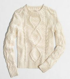 For the fashionista in your family, a sweater is the perfect gift! You can't go wrong with this beaded cable knit from @J.Crew
