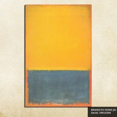 Mark Rothko Still life Classical oil Painting Drawing art Spray Unframed Canvas wax action picture miniature technical29014366