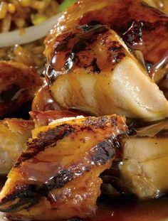 pressure cooker bourbon barbecue chicken