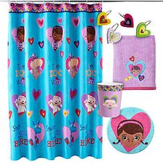 Shower Curtain Hooks Doc Mcstuffins And Shower Curtains