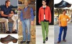 Clog Blog: Men Wearing Clogs. Tessa Clogs. Vail.CO