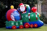 Cheap Christmas Blow Ups | Outdoor Santa Inflatables