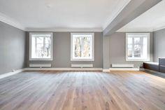 Boligstyling i Oslo og Akershus - Intro Interiørdesign Empty Room, Oslo, Dining Room, Windows, Templates, Interior Design, Architecture, Home, Nest Design