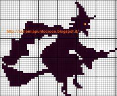 Schemi a punto croce gratuiti per tutti: Raccolta schemi a punto croce tema Halloween