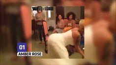 Amber Rose, Rihanna,Nicki minaj Iggy Azalea,The Best Twerk moments 2015