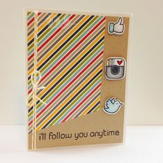 I'll follow you anytime,