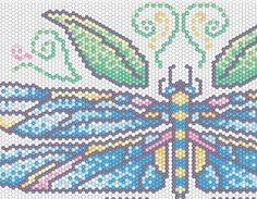 Celebrating Dragonflies.  Find more projects on BeadAndButton.com