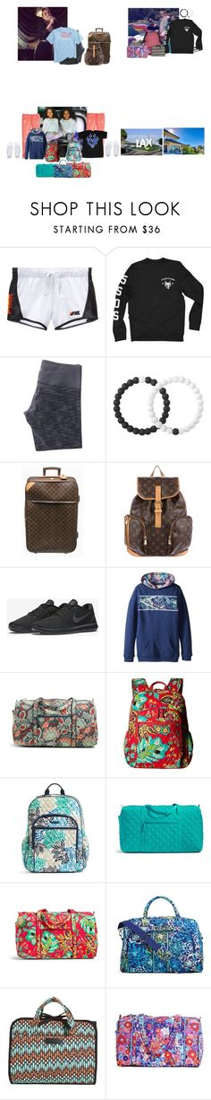 """""""Wednesday// Staying at Aunt Raleigh and going to LAX"""" by those-families ❤ liked on Polyvore featuring Victoria's Secret, lululemon, Vineyard Vines, Lokai, Louis Vuitton, NIKE, Roxy Kids, Vera Bradley and TheHartFamily"""