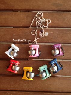 Hey, I found this really awesome Etsy listing at https://www.etsy.com/listing/155205524/miniature-kitchen-aid-necklace-with