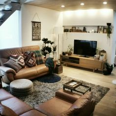 chieさんの、リビング,観葉植物,IKEA,秋色,ニトリの照明,グリーンのある暮らし,DIYサイドテーブル,秋インテリア,のお部屋写真
