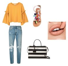 """""""mall"""" by isabelvsacre on Polyvore featuring MANGO, Levi's, Steve Madden and Kate Spade"""