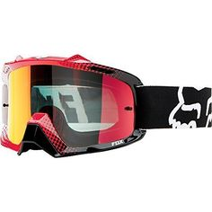 Fox Racing Airspc Sand 360 Race Goggles - One size fits most/White/Red Size: One size fits most Color: White/Red, Model: Airspc (Extra Clear Lens), Car & Vehicle Accessories / Parts. Smart venting system, venting ports circulate cool air. Increased peripheral viewing. 19mm triple layer face foam for superior sweat absorption. 8-pin lens retention system keeps lens intact. Lexan lens offers 100% UV protection.