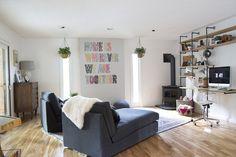 House Tour | Family Room + Kitchen (via @Jen Lula-Richardson)