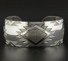 Sharifah Marsden, Sterling Silver Bracelet, Weaving, Northwest Coast Native Art