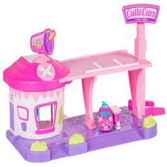 Shopkins Series 1 Cutie Cars Drive Thru Diner Playset
