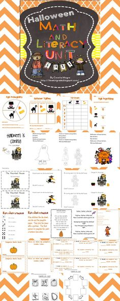 This 52 page unit includes a ton of engaging activities to get your students in the Halloween mood. While the activities are a lot of fun, children will learn a lot.