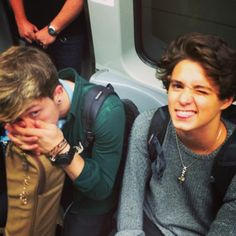 Bradley Will Simpson and Connor Samuel John Ball Bradley Will Simpson, Brad The Vamps, New Hope Club, Pierce The Veil, 1d And 5sos, Celebs, Celebrities, Cool Bands, Celebrity News
