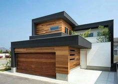Casas modernas por Architect Show co. Residential Architecture, Contemporary Architecture, Interior Architecture, Japanese Architecture, Online Architecture, Contemporary Houses, Beautiful Architecture, Landscape Architecture, Modern Exterior