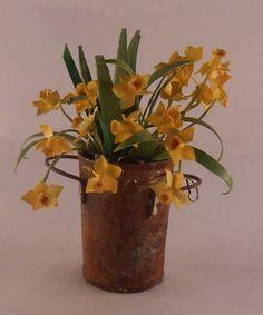 Flowers in Bucket 14-3 by Marie Petrik