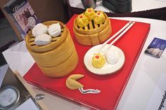 Celebrity Dim Sum | Sun Sui Wah Restaurant in Vancouver... are these cakes?  #dimsum #food #cakes