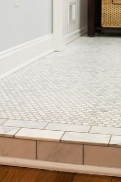 Subway Tile Shower With This Floor   Do A Subway Tile Edge Around The  Entire Floor